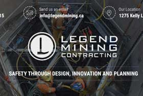 Welcome, Greg Louiseize and the team at Legend Mining Contracting